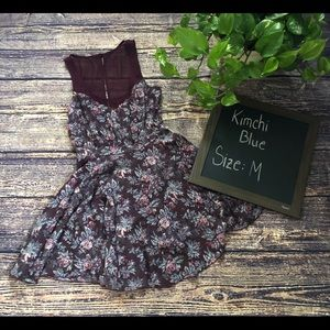🌀Kimchi Blue | Mini Floral Dress